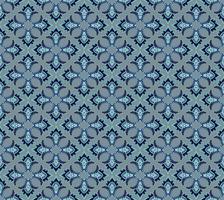 Seamless flower pattern Ornamento floral abstrato vetor