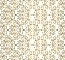 Resumo padrão sem emenda. Ornamento de linha retrô redemoinho.