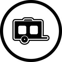 Design de ícone de vagão