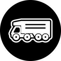 projeto de ícone de caminhão basculante