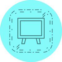 Design de ícone do quadro-negro vetor