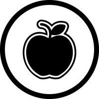 Design de ícone de maçã vetor
