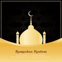 Abstrato à moda Ramadan Kareem fundo religioso