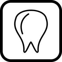 Projeto do ícone do dente