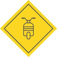 Design de ícone de scooter