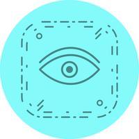 Desenho de ícone de olho vetor