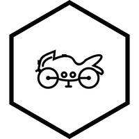 Design de ícone de bicicleta pesada vetor