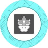 projeto de ícone de raio x