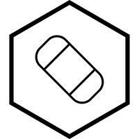 Projeto de ícone de borracha