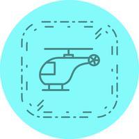 Projeto de ícone de helicóptero vetor