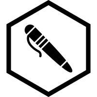 Design de ícone de caneta
