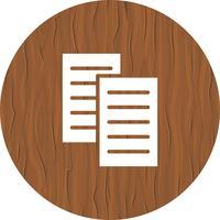 Design de ícone de arquivos vetor