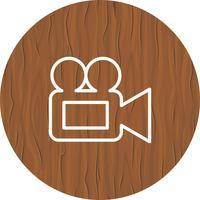 Design de ícone de câmera de vídeo
