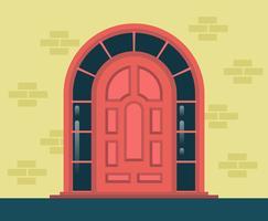 Ilustração de portas vetor