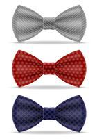gravata borboleta para homens uma ilustração do vetor de terno