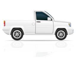 ilustração em vetor pick-up de carro