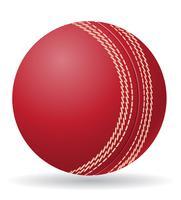ilustração em vetor bola criket