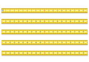 fita métrica para ilustração vetorial de ferramenta roleta EPS 10