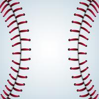 Fundo de vetor de esporte de textura de beisebol