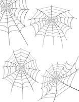 ilustração de estoque vetorial de teia de aranha