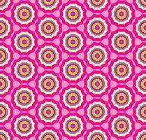 Sem costura rosa de fundo com guarda-chuva estilizado vetor
