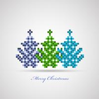 árvores de Natal vetor