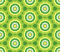 Fundo verde sem costura com guarda-chuva estilizado vetor