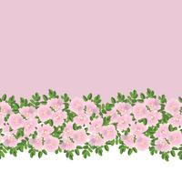 Padrão sem emenda floral abstrato. Fundo de flor de verão.