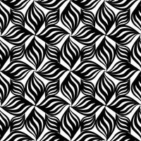 Abstract seamless pattern Ornamento de linha geométrica oriental floral