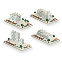 Edifícios de vetor