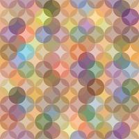 Abstrata sem costura padrão com ornamento circular