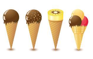 sorvete vetor