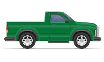 ilustração em vetor pickup carro