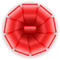 arco para ilustração vetorial de presente vetor