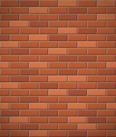 parede de fundo sem emenda de tijolo vermelho