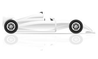 ilustração em vetor carro esporte