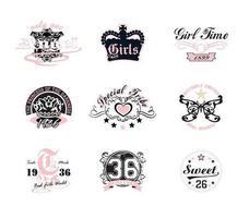 Desenhos De Vetor De T-shirt Feminino