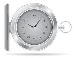 ilustração de vetor de relógio de bolso