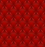 fundo sem emenda de estofos de couro vermelho