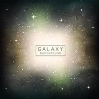 Fundo abstrato espaço galáxia vetor