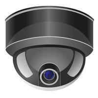 ilustração em vetor câmera de vigilância por vídeo