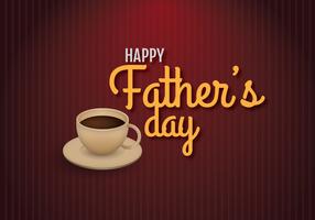 Saudações Feliz Dia dos Pais vetor