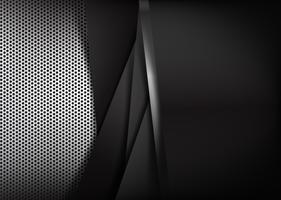 Fundo abstrato segurar metal polido 004 vetor