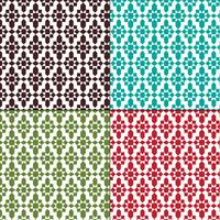 padrões geométricos marroquinos sem costura vetor