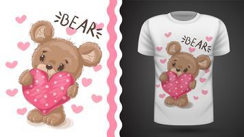 Pera bonito - idéia para impressão t-shirt vetor
