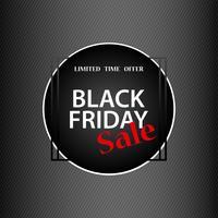 fundo de sinal de sexta-feira negra, com desconto e compras on-line conceito vetor