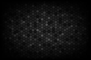 Fundo de baixa luz de textura abstrata triangular preto vetor