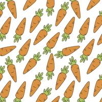 Fundo de cenoura vetor