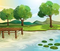 Lago vetor