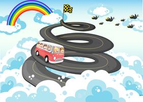 Viagem de carro vetor